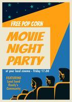 Affiche de la soirée cinéma