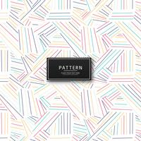 Abstract geometric colorful lines pattern design