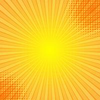 Abstract comic rays background vector