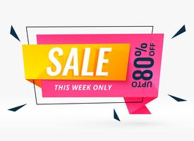 modern sale banner for your business promotion