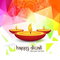 Modern beautiful colorful diwali bright design