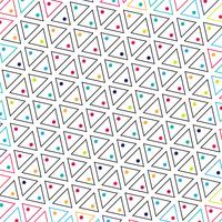 Abstract triangle colorful pattern background