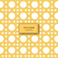Abstract geometric yellow pattern background