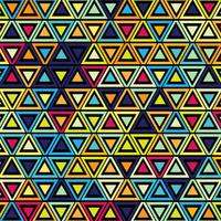 Geometric colorful pattern background illustration vector