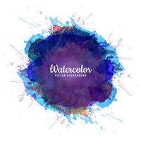 Abstract colorful watercolor spalsh  design