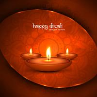 Modern beautiful colorful diwali bright background