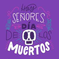 Day of the Dead Lettering