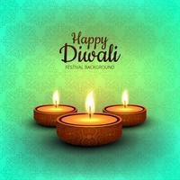 Abstract shiny beautiful diwali background