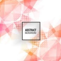 Abstracte kleurrijke geometrische veelhoek achtergrond vector