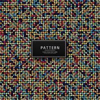 Modern geometric colorful seamless pattern design
