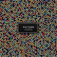 Modern geometrisk färgstark sömlös mönsterdesign