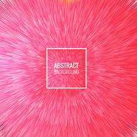 Vetor de fundo abstrato raios rosa