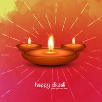 Modern beautiful colorful diwali bright background