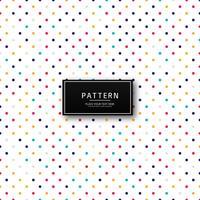 Fundo abstrato colorido padrão pontilhado
