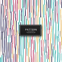 Fundo elegante colorido padrão criativo