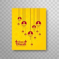 Modernes Dilwali-Broschürendesign