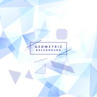 Modern geometric memphis background vector