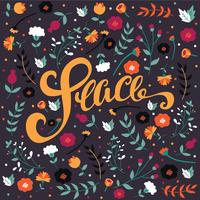 Peace Lettering Vector Design