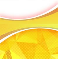 Abstract wavy polygon background