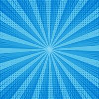 Abstract blue comic background with dotted design