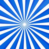 Abstract blue lines background with rays  vector