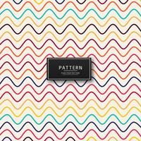 Beautiful colorful lines pattern design