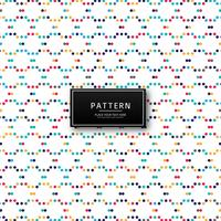 Abstract colorful dots pattern background