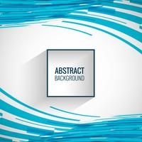 Elegant blue lines background wave vector