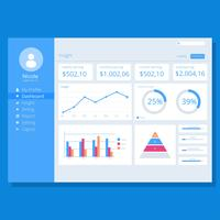 Chart UI Kit Website Template