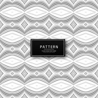 Elegant grå geometrisk sömlös mönsterdesign