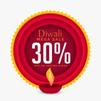 awesome diwali discount banner template