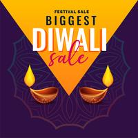 awesome diwali sale banner design