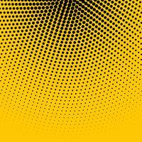 Fondo amarillo abstracto con semitono negro