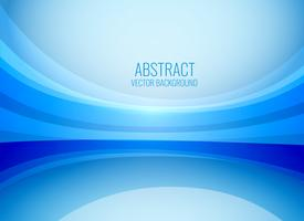 stylish blue wavy business background