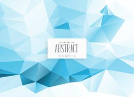 abstract low poly blue geometric background