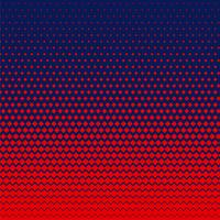 red rhombus shape halftone background