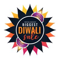 biggest diwali sale banner template