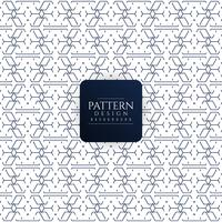 Abstract seamless geometric pattern background vector