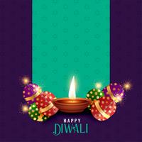 diwali festival season background with text space