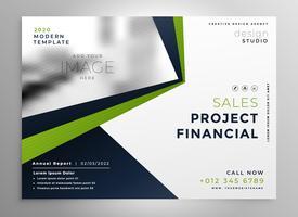 stylish modern brochure design template