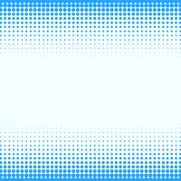 blue straight halftone circle background