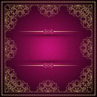 Abstract beautiful luxury mandala vector background