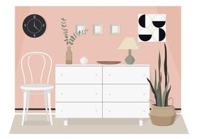 Vector Modern Interior Illustration