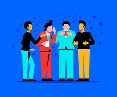 Parties And Gatherings Illustration