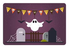 Vector Halloween Elements and Accessories