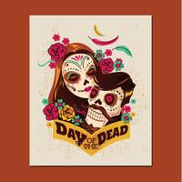 Couple of Day of The Dead Festival