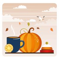 Vector Autumn Elements and Illustration