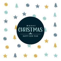 elegant christmas pattern background design