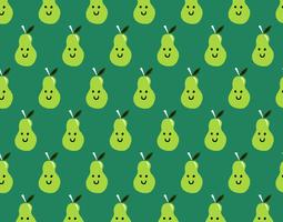 happy pear seamless pattern