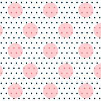 elegante cerchi polka modello d'arte